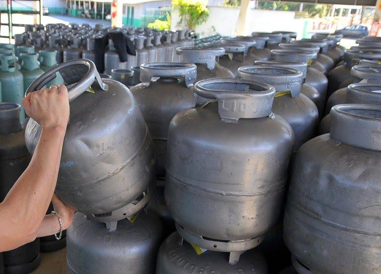Gás de cozinha é vendido a R$ 105 no Piauí (Foto: Divulgação)